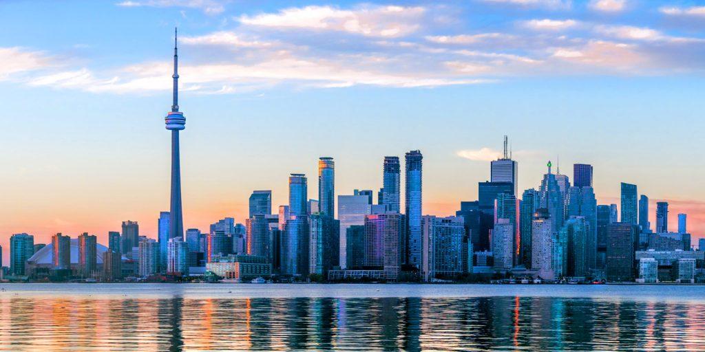 Toronto, Ontario city line
